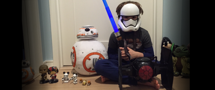 Media Moment: May the force be with me…I just showed my baby his first PG-13 film.
